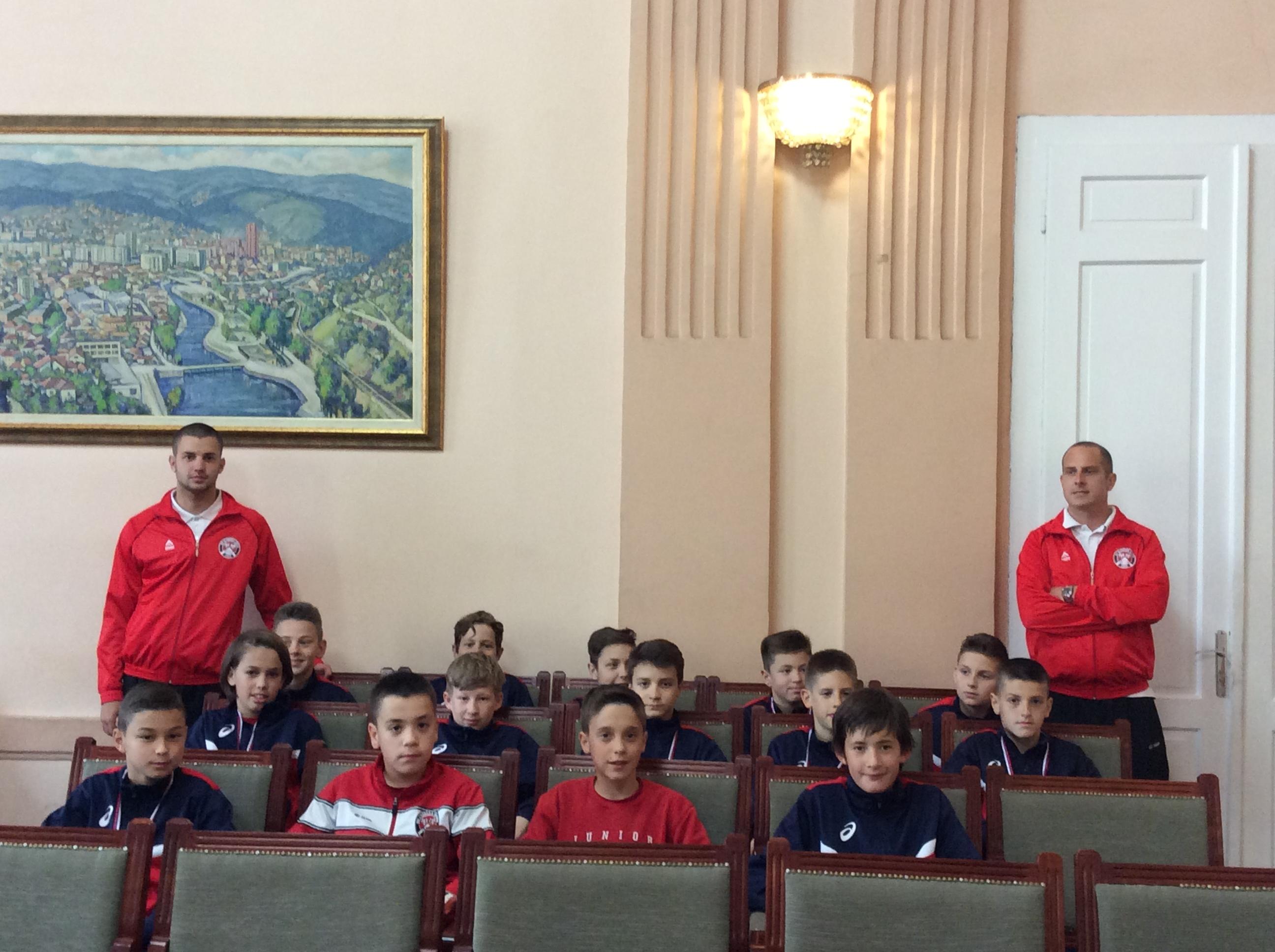 Najbolji u kategoriji rođenih 2004. sa trenerima J.RAdojičićem i D.Todorovićem