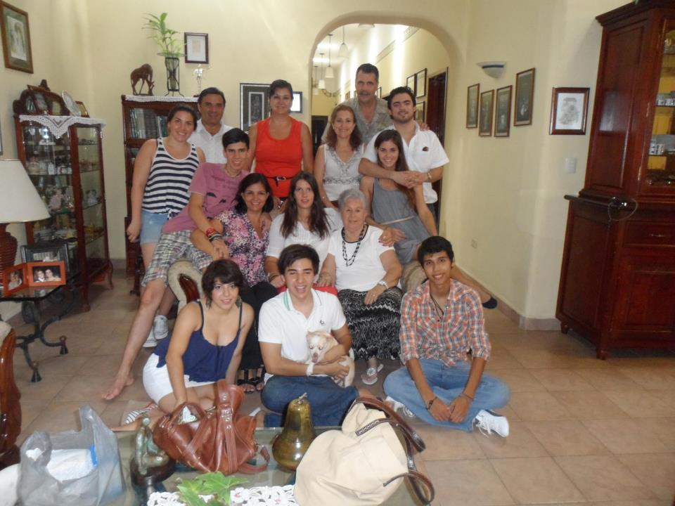Ana Mišević u meksičkoj porodici