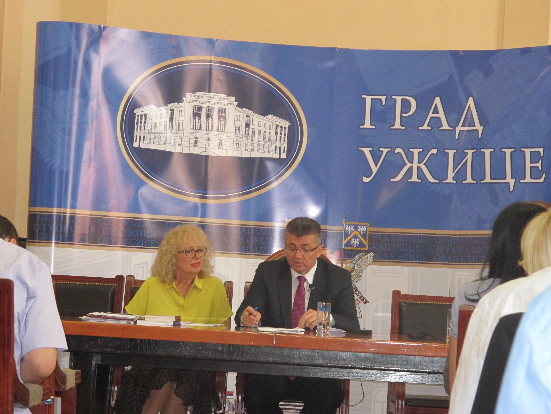 Branislav Mitrović, predsednik Skupštine grada Užica Foto--P.S.