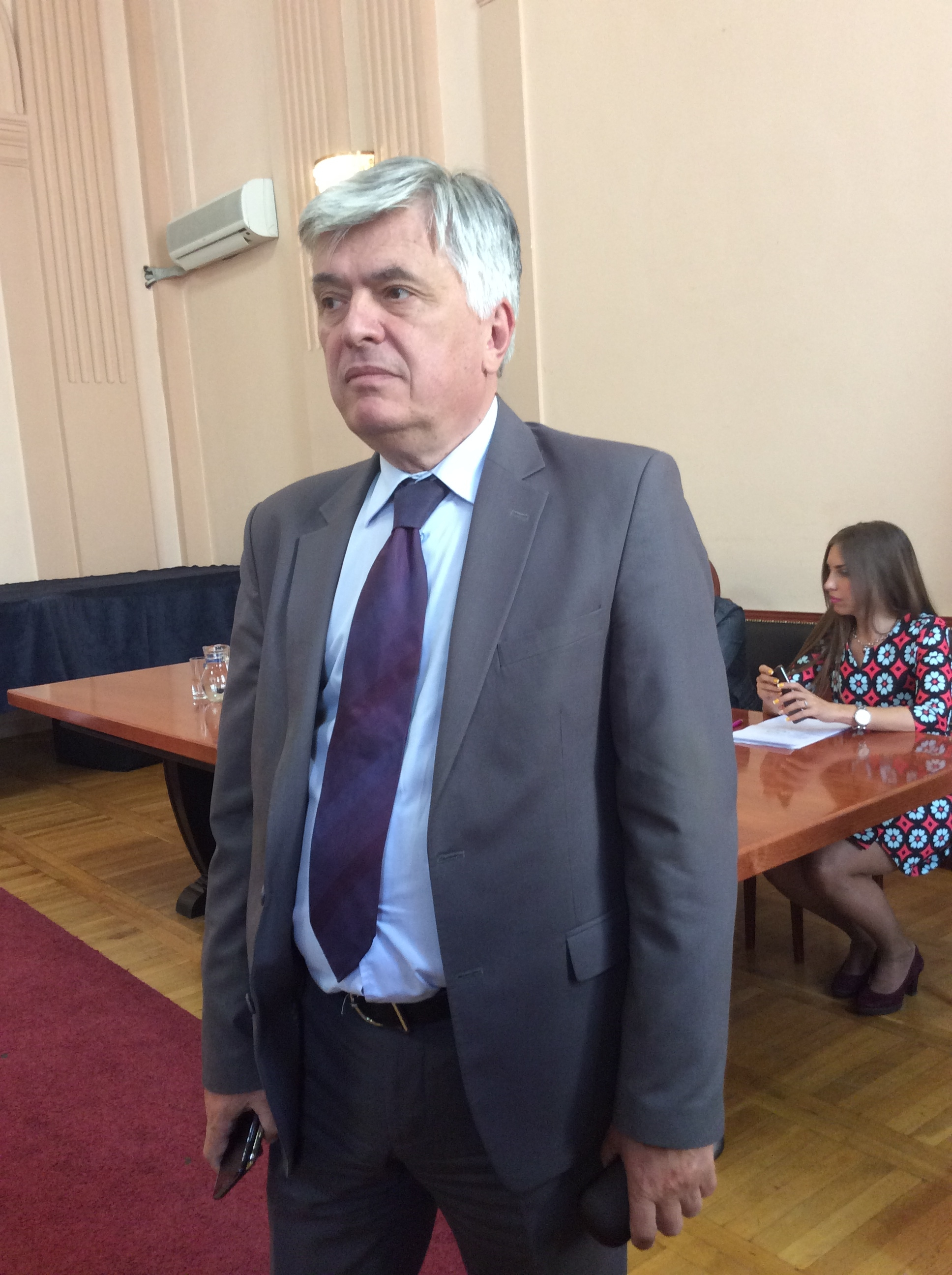 Slobodan Pajović, šef odborničke grupe oko DS Foto--URP