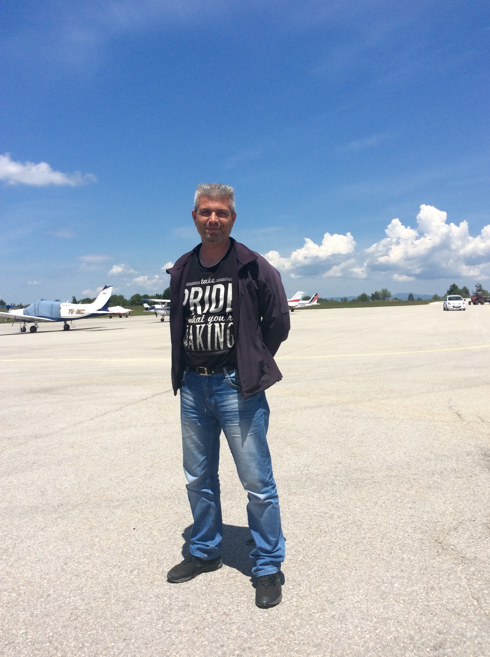 Aca Đorđević, STS avijacija   Foto--URP