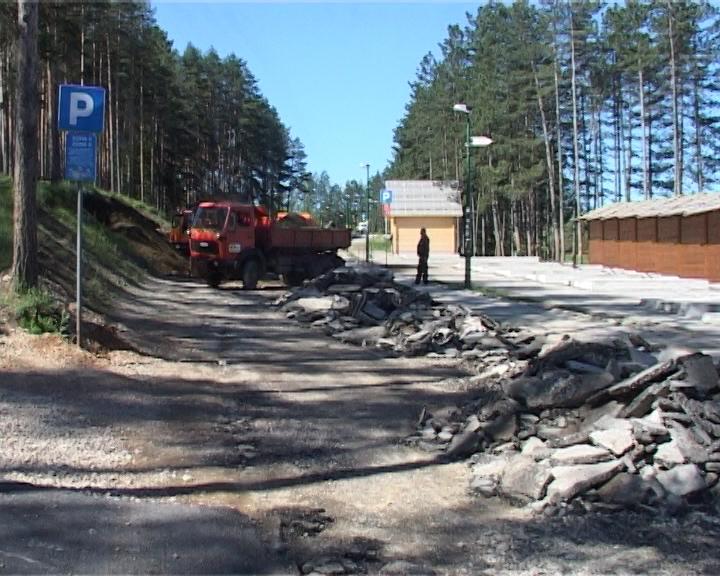 Novih 50 parking mesta na Zlatiboru  Foto--zlatiborpress.rs