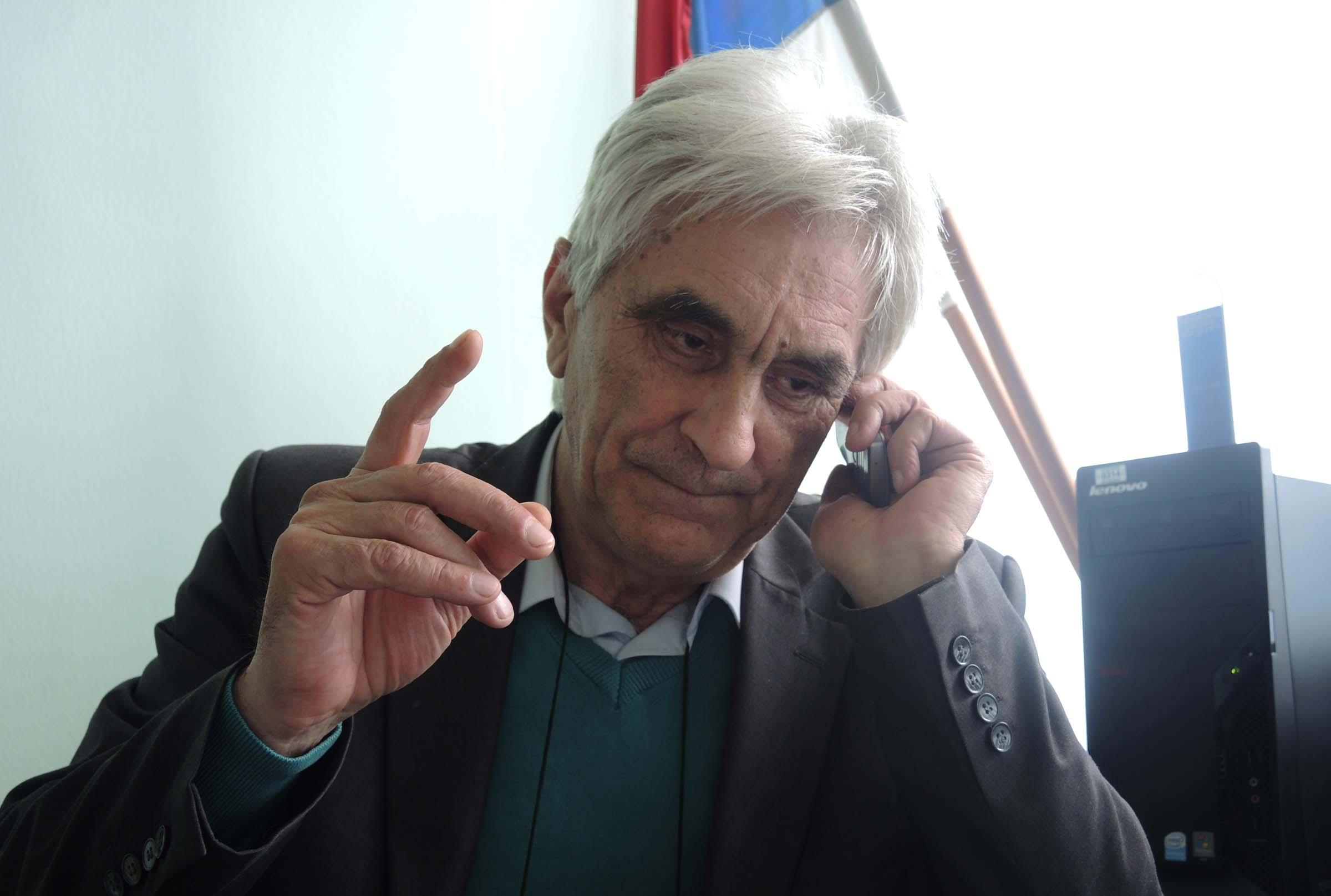 Milijan Stojanić, predsednik opštine Kosjerić