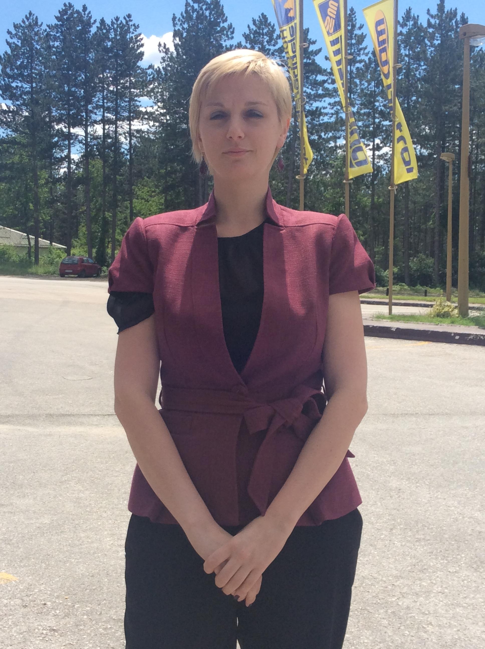 Irena Latinović, Tim za osicajlno uključivanje i smanjenje siromaštva Vlade Srbije  Foto--URP