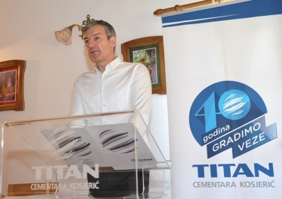 Miroslav Gligorijević, generalni direktor TITAN Cementare Kosjerić  Foto--www.titan.rs