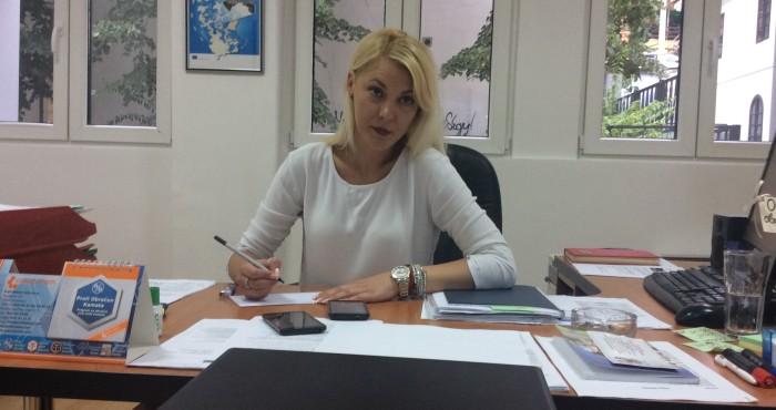 Jelena Vasović, v.d. direktora Gradskog kulturnog centra Užice  Foto--URP