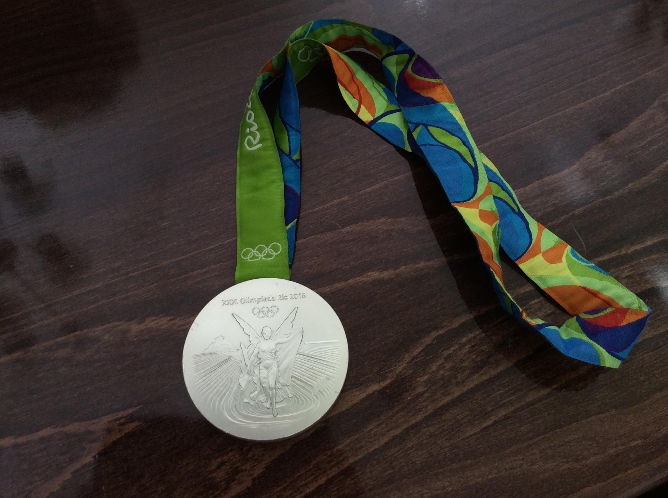Olimpijsko srebro Tijane Malešević Foto--URP