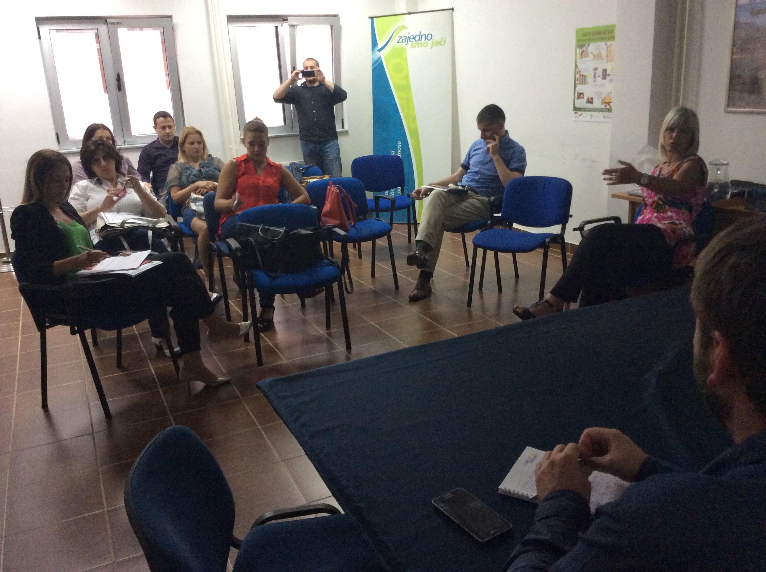 Sastanak predstavnika Zelenog saveta i BOŠ-a Foto--URP