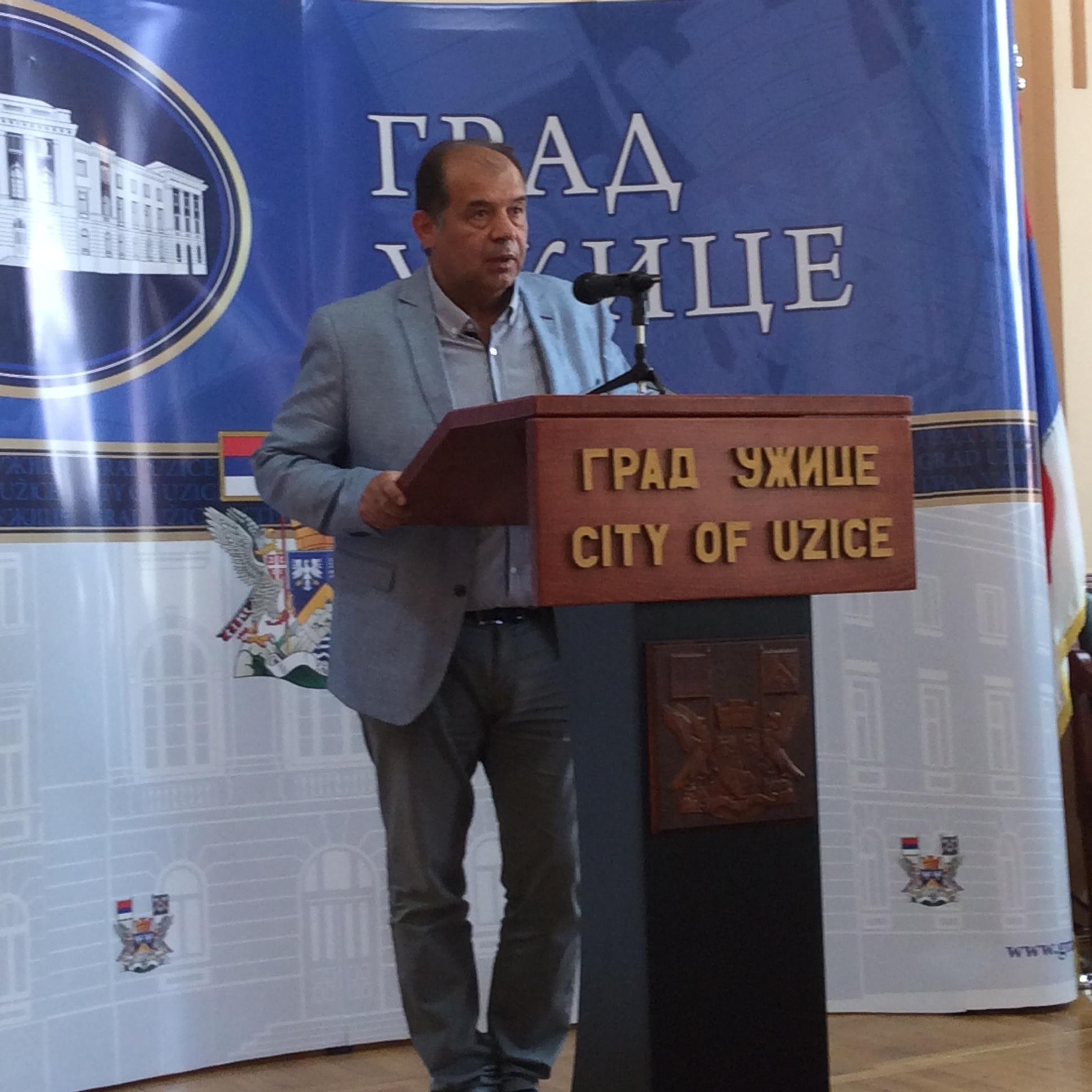 Tihomir Petković, gradonačelnik Užica   Foto--URP