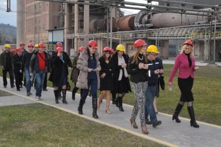 Profesionalnu praksu u Titan cementari u Kosjeriću u prethodne tri godine sprovelo je 26 praktikanata Foto--titan.rs