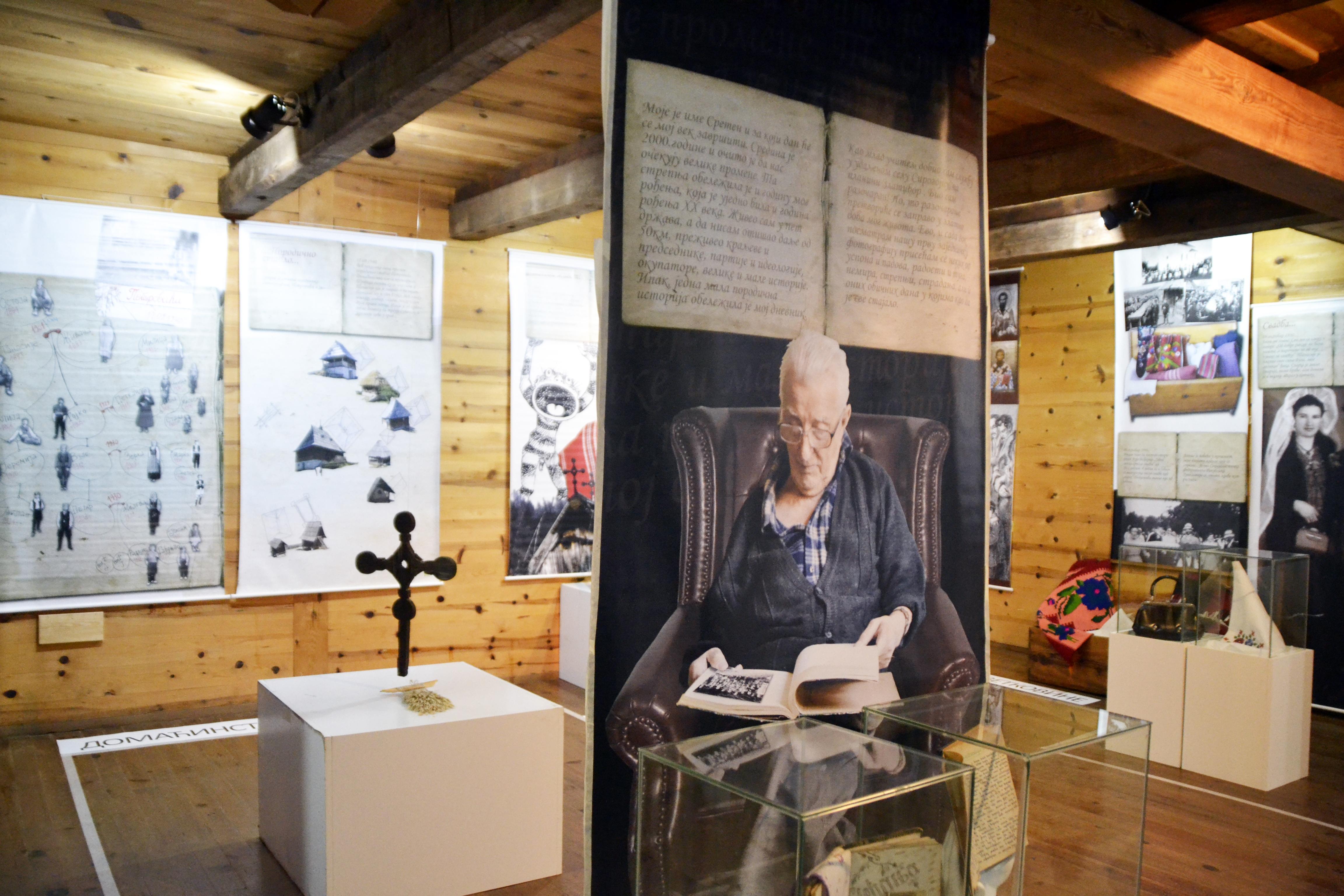 """Foto--Muzej na otvorenom """"Staro selo"""" Sirogojno"""