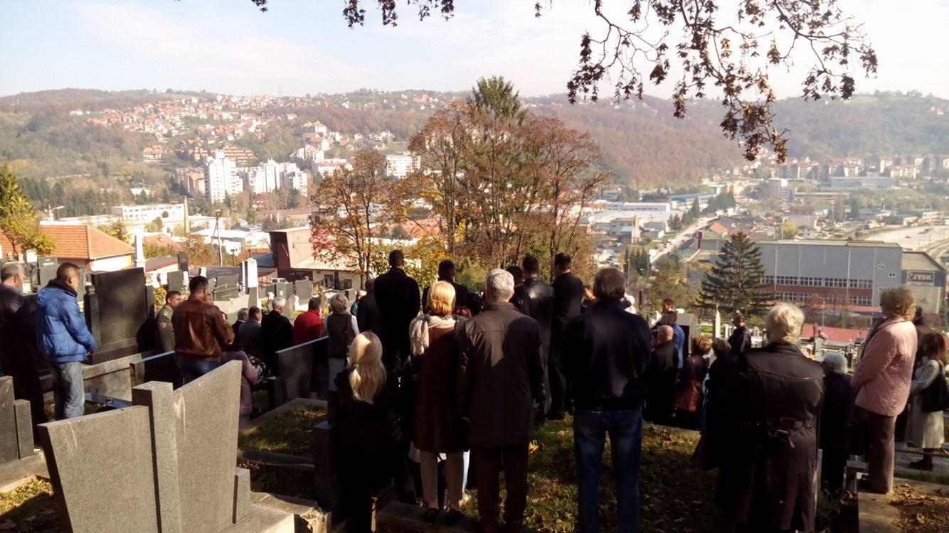 Posmrtni ostaci Ljubice Čakarević položeni su u porodičnu grobnicu na Dovarju Foto--URP