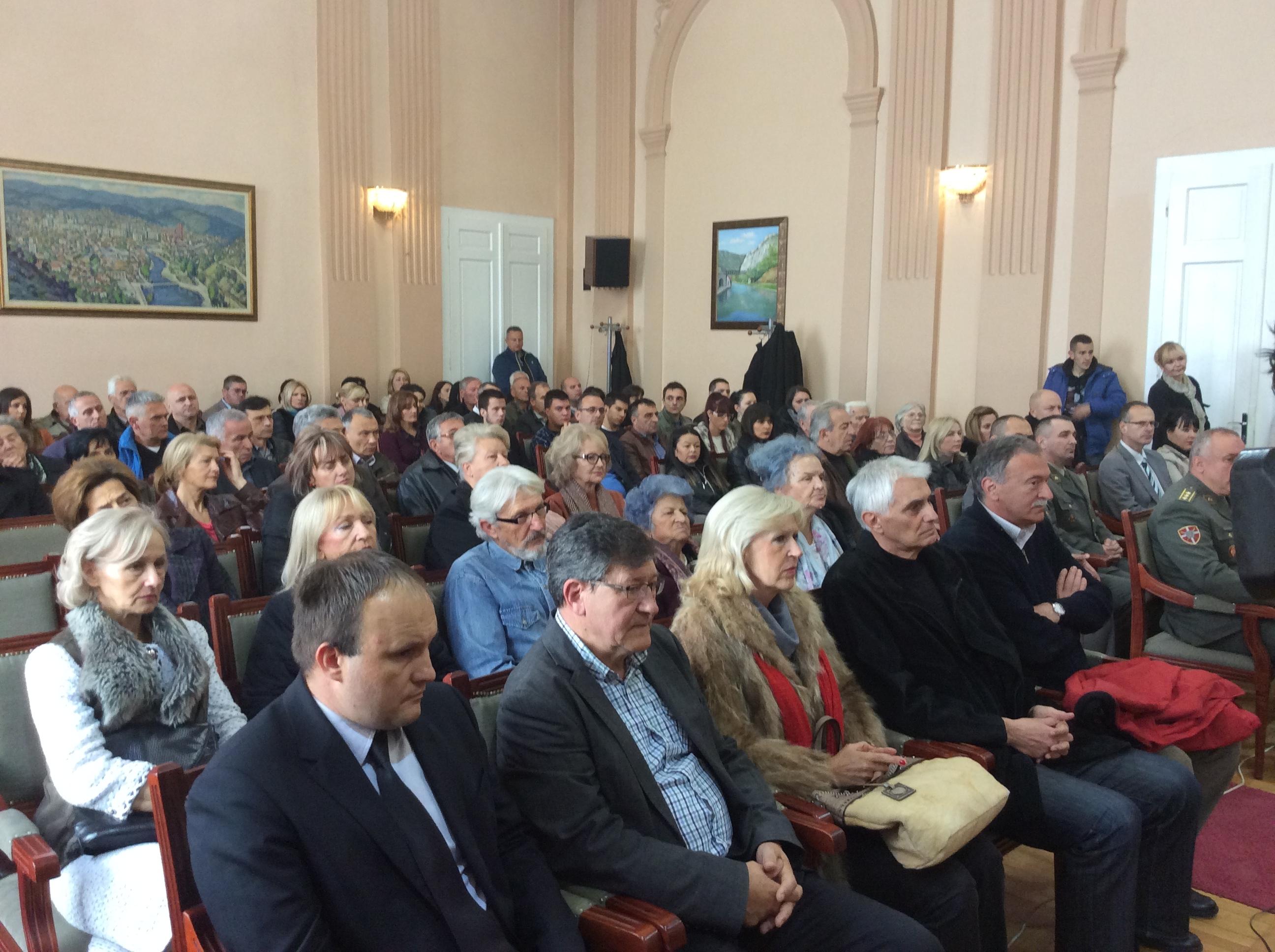 Komemoracija Ljubici Čakarević u gradskoj kući u Užicu Foto--URP