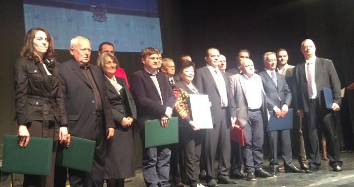 Svi dobitnici priznanja povodom Dana grada Užica- 9. oktobra  Foto--URP