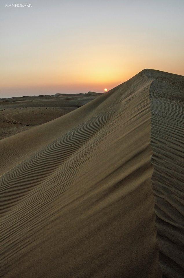 Fantastični prizori iz Emirata uslikani aparatom Užičanina Foto--I.M. privatni album