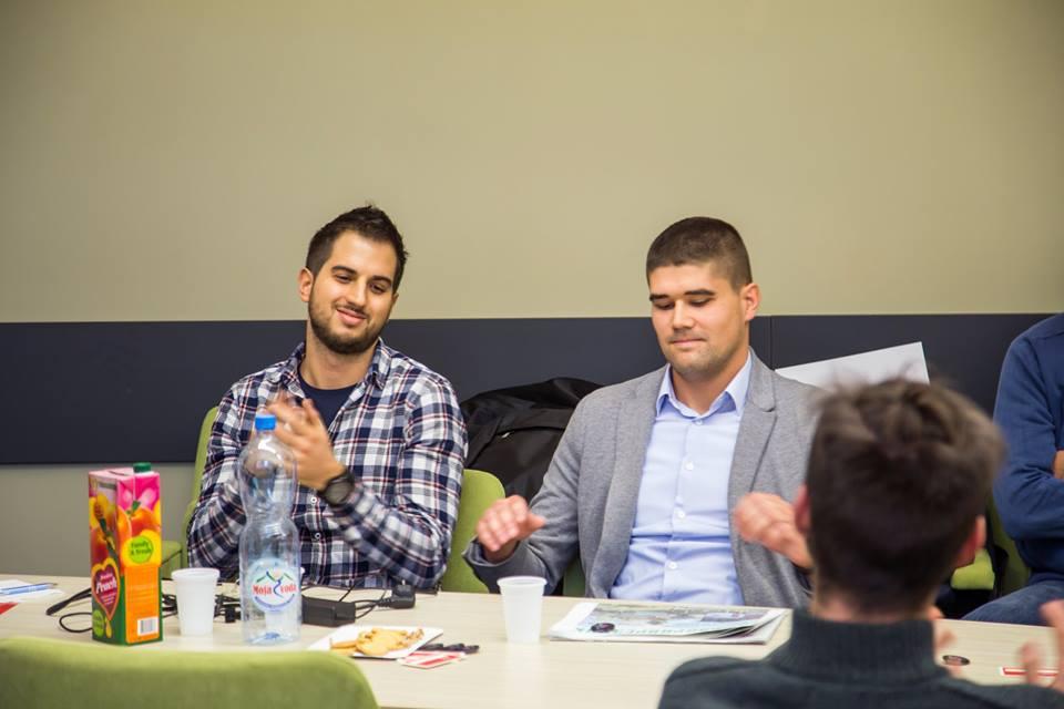 Zoran Đukić, student master studija na PMF-u u Novom Sadu pomogao je LAzaru Jovanoviću programiranje Smart Watering sistema