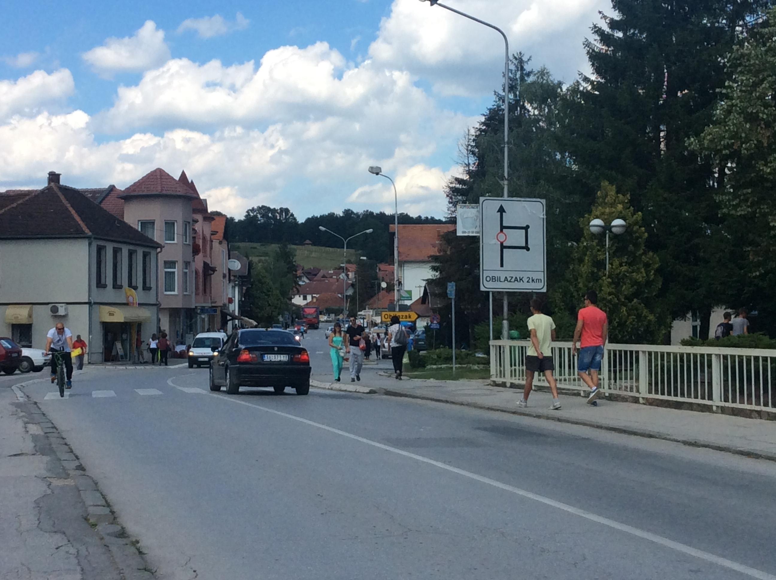 Većina stanovništva Kosjerića živi na seoskom području Foto--URP