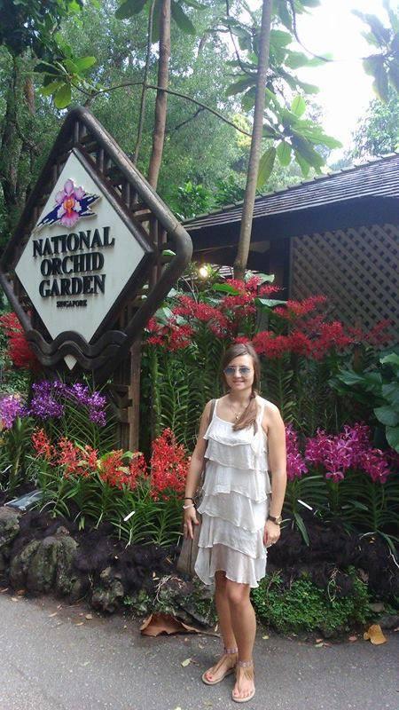 Užičanka uživa u putovanjima po Singapuru iz koga joj je ceo svet nadohvat ruke Foto--privatni album T.M.