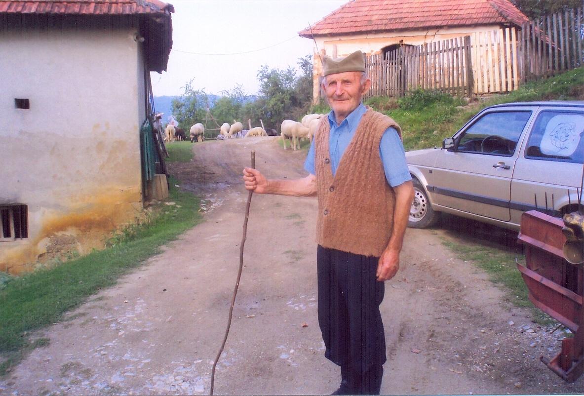 Milorad Lazić iz Ribaševine nedavno je proslevio 90-ti rođendan  Foto--privatni album G.L.