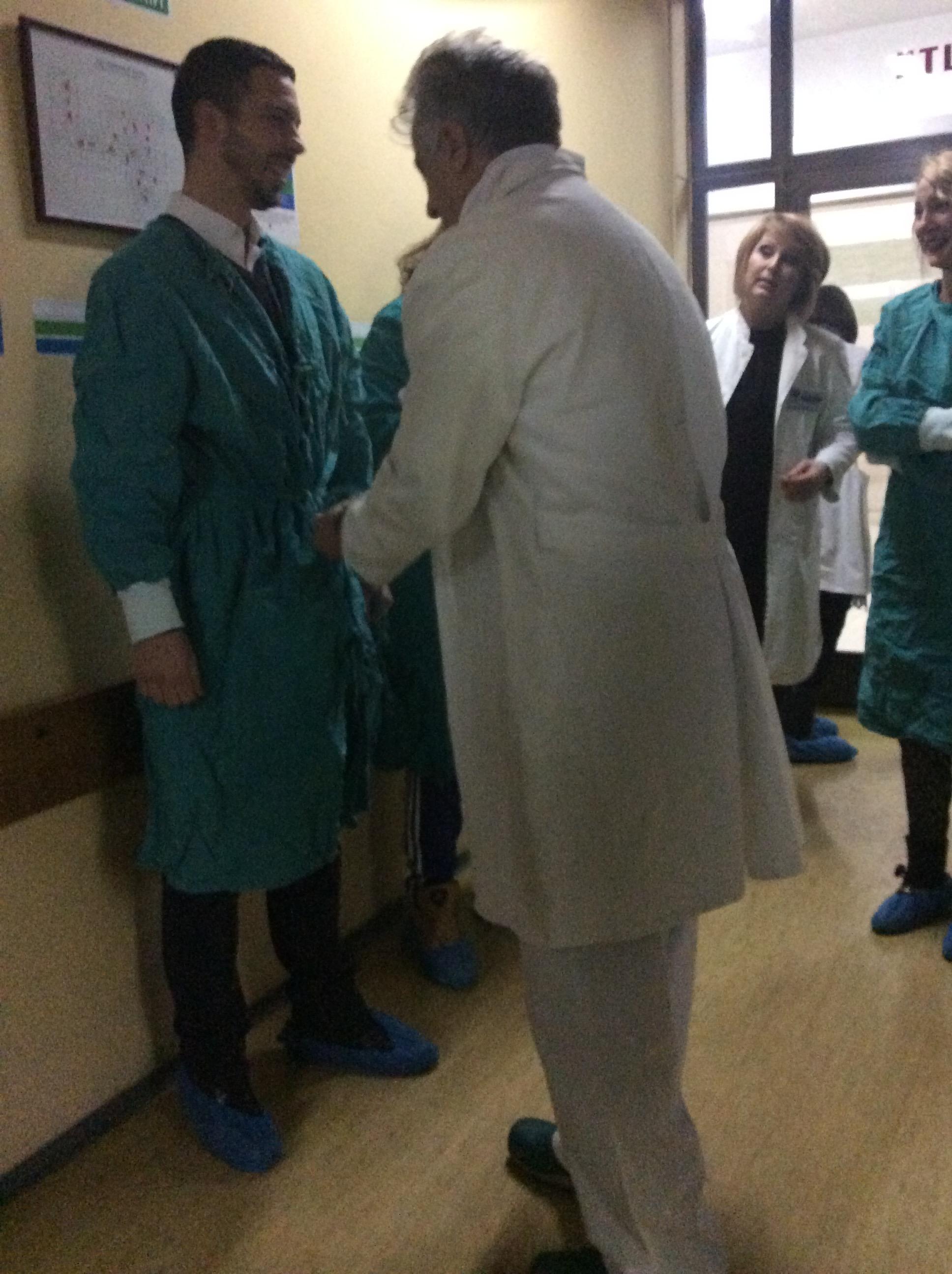 Za bezbednost porodilja brine se od samog ulaska na odeljenje ginekologije Foto--URP