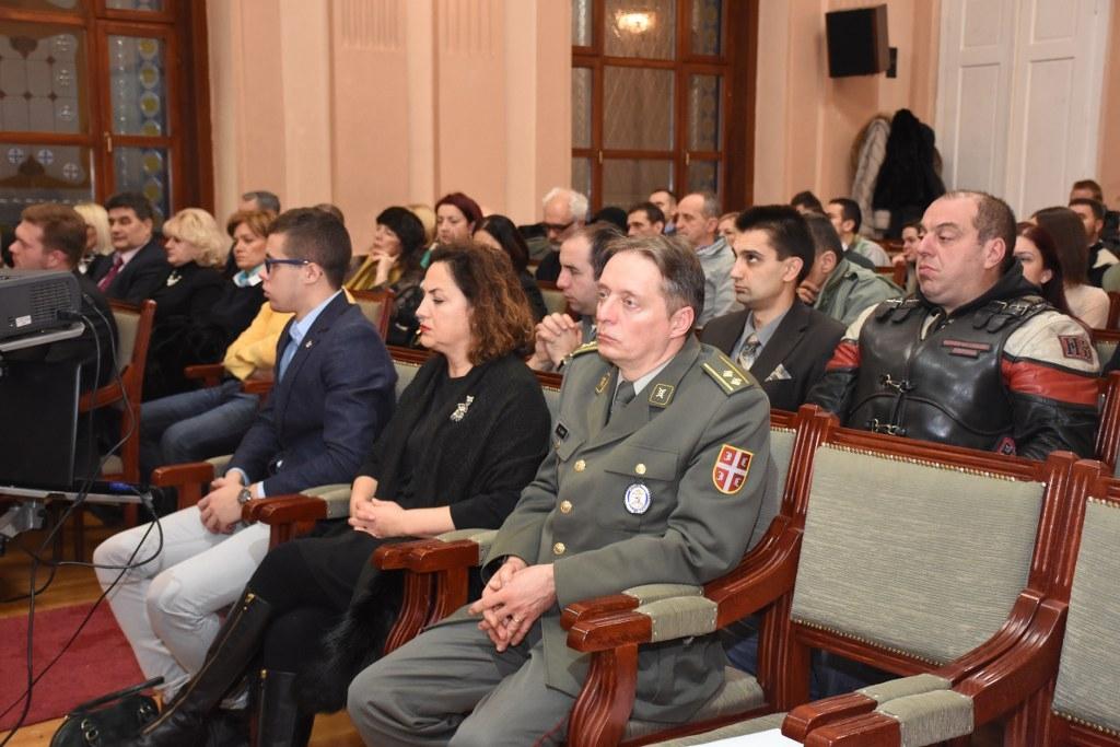 Svečana akademija povodom godišnjice Srpsko- ruskog kluba u Užicu Foto--Foto video Fleš