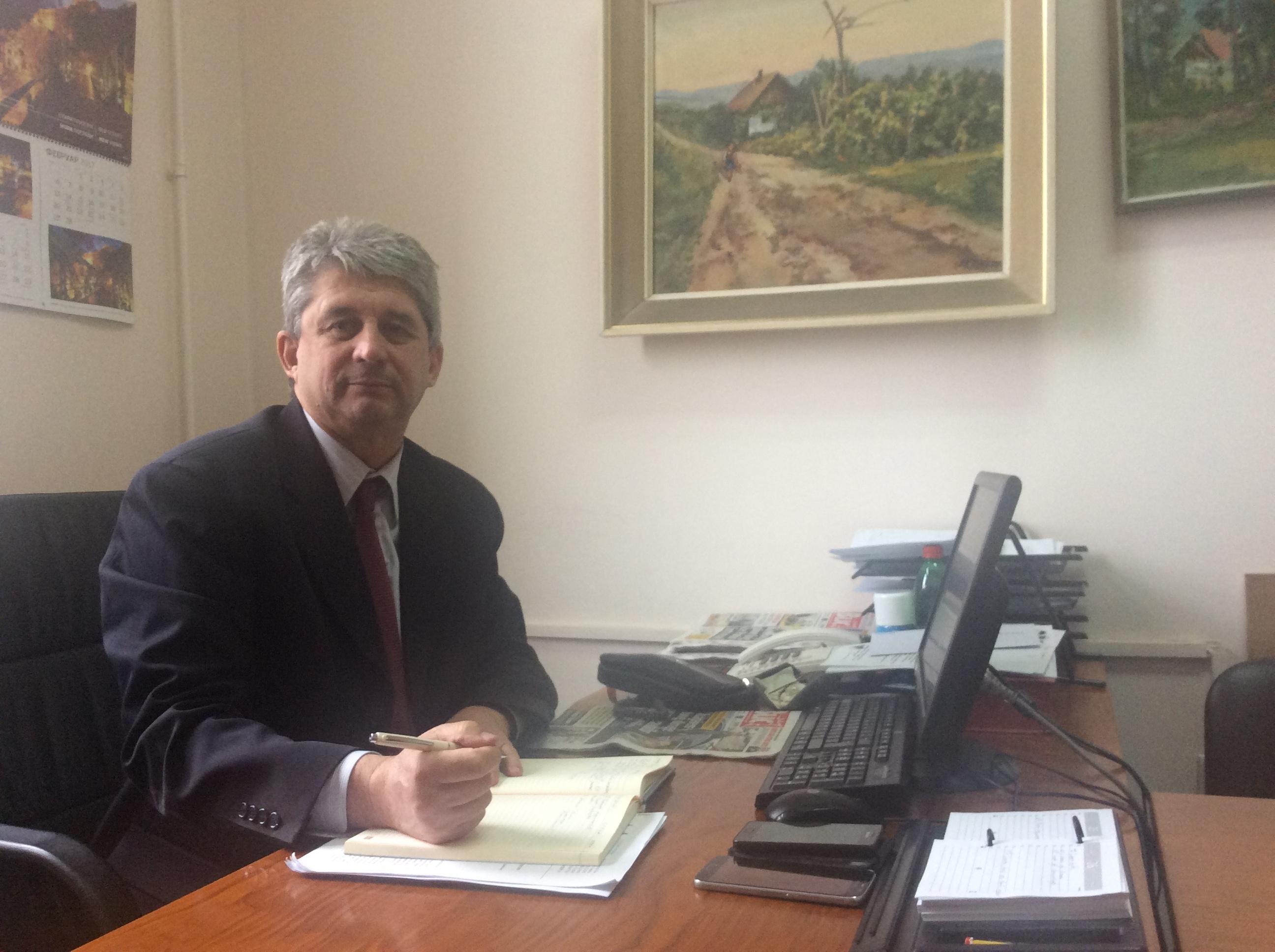 Grad Užice već finansira sedam socijalnih usluga i podržava uvođenje nove, kaže Vidoje Drndarević, gradski većnik za socijalnu politiku Foto--URP