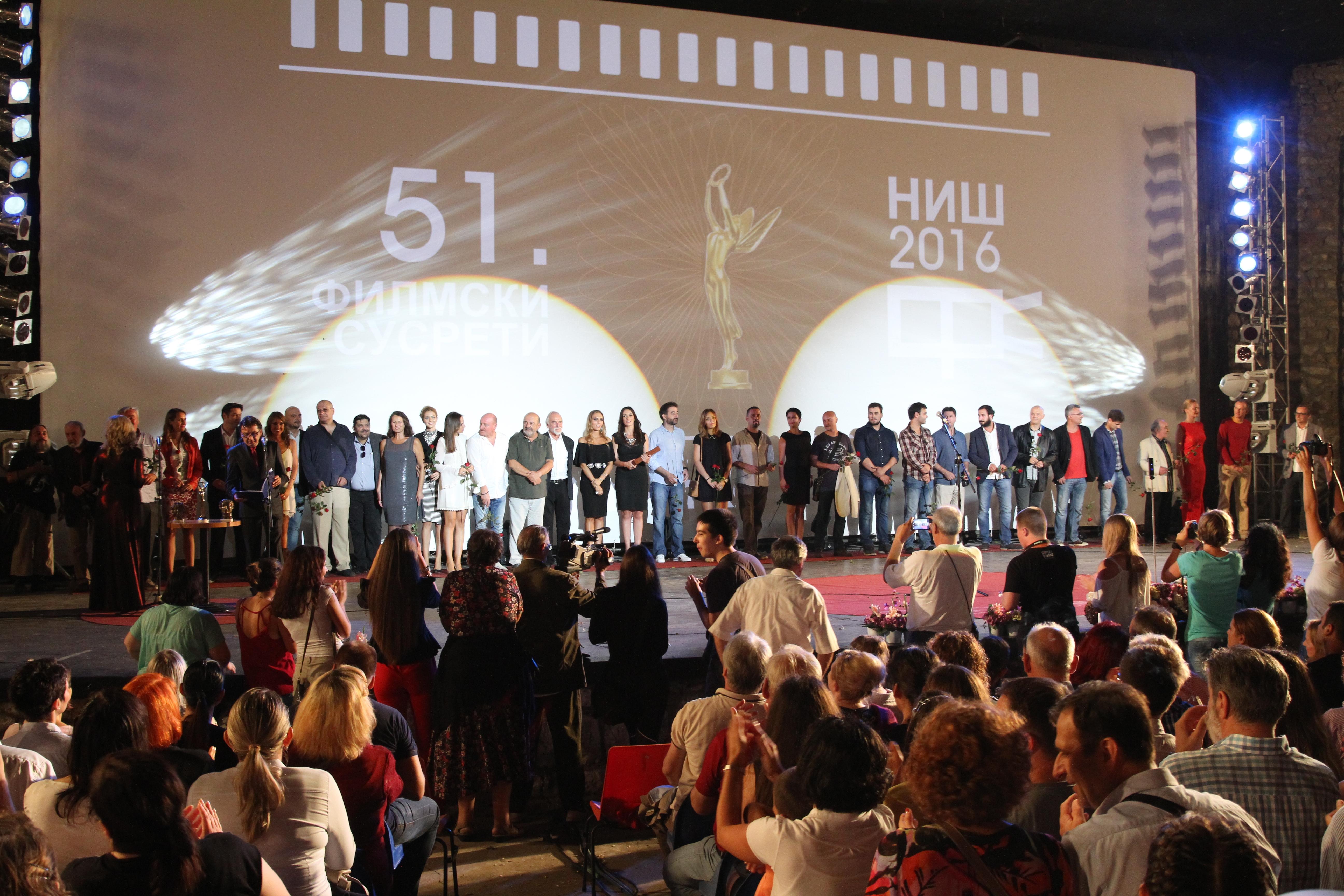 """""""Sporazum"""" je prikazan na 51. Festivalu glumačkih ostvarenja domaćeg igranog filma u Nišu Foto--privatni album P.R."""