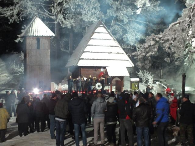 Tradicionalni doček pravoslavne nove godine u Jablanici Foto--Turistička organizacija Zlatibor