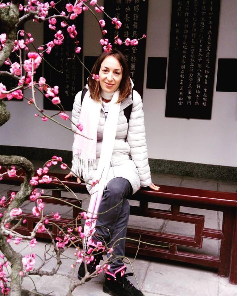 Veruje da bi posle Kine sudbina mogla da je odvede u Vijetmanu, Nepalu ili Japan  Foto--privatni album A.V.