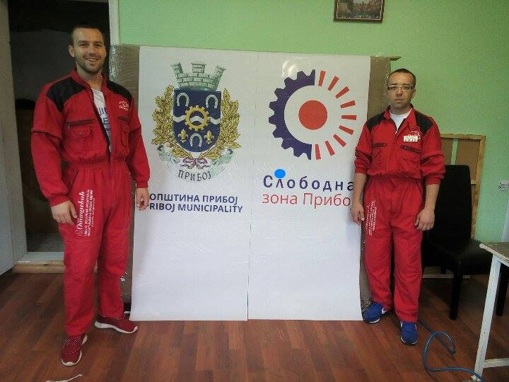 Stefan Otašević (levo) oživeo i proširio posao koji su započeli otac i brat Foto--S.O.