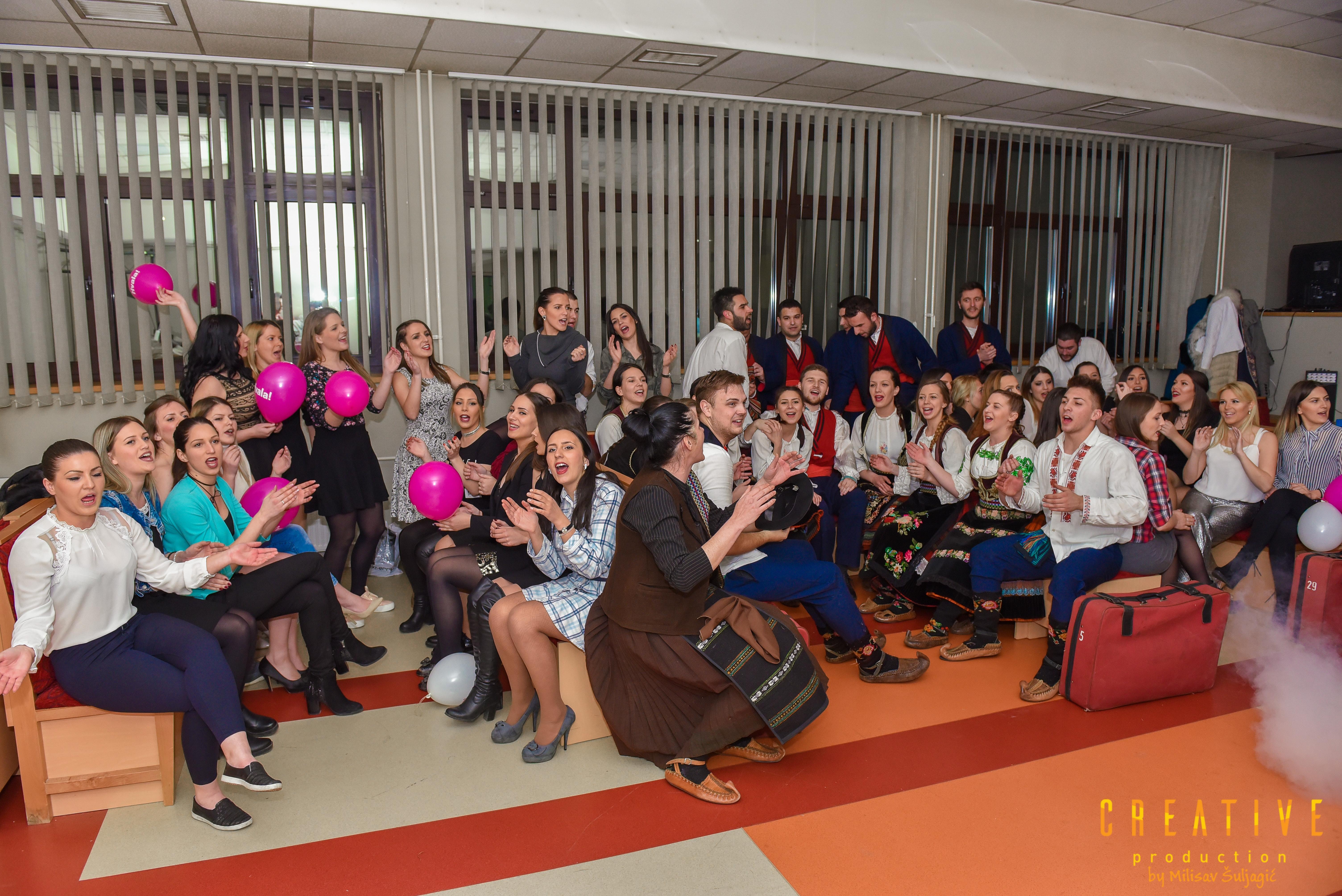 Studenti Učiteljskog fakulteta spremni su da se uskoro poklone i publici u Republici Srpskoj Foto--Milisav Šuljagić- Creative production