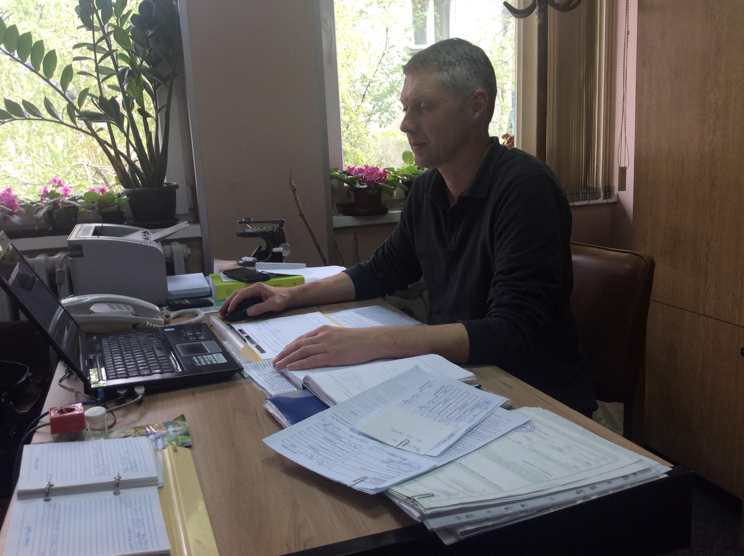 Adektavna zaštita nakon stabilizacije vremenskih uslova izuzetno važna za voćne zasade, kaže Milenko Gavrilović iz PSS u Užicu  Foto--URP