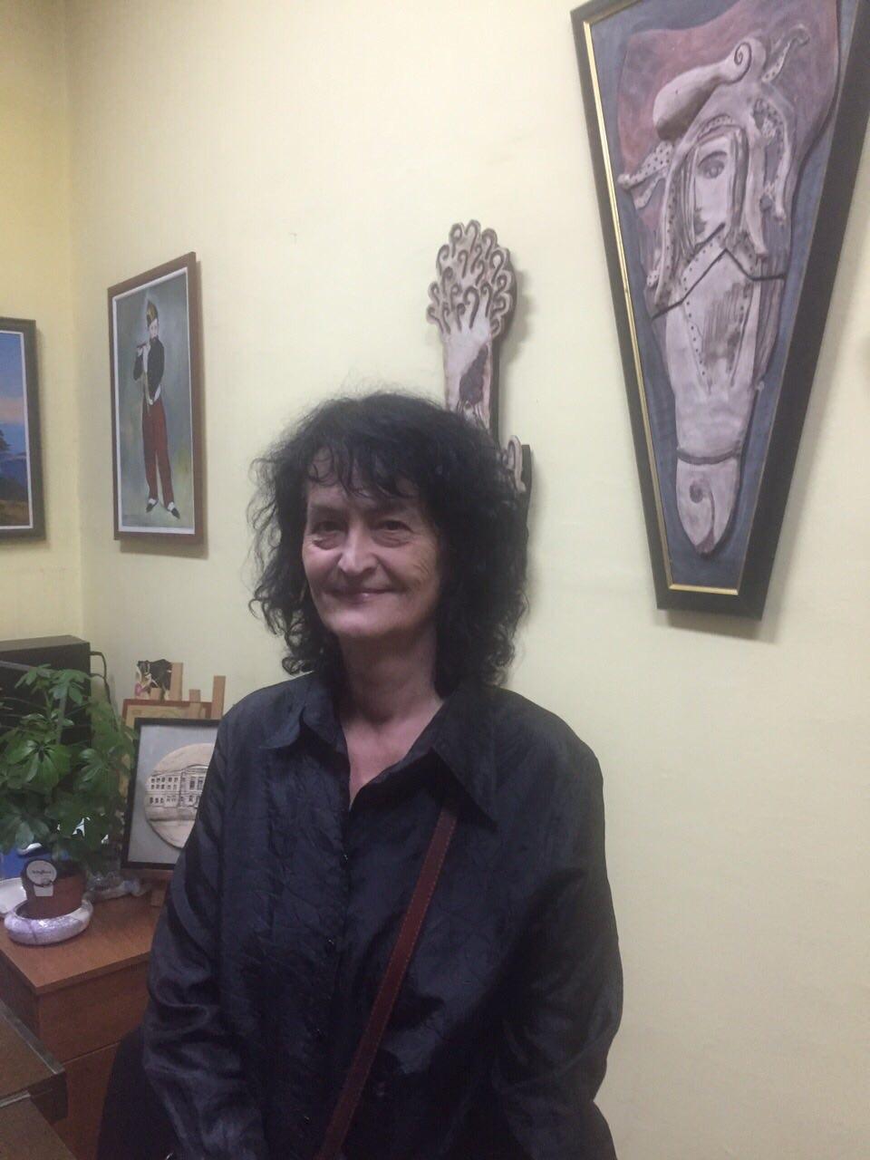 Ponosna na bivše i sadašnje učenike Umetničke škole u Užicu kojom rukovodi poslednja tri meseca Foto--M.N.