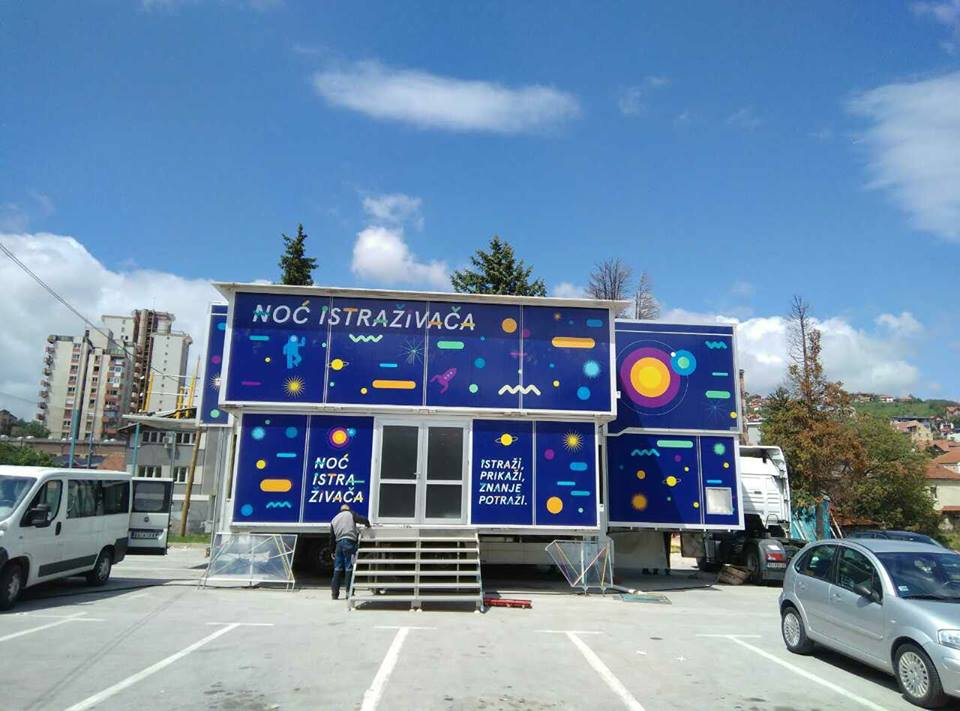 """""""Naučni kamion"""" od 8. do 12. maja biće dostupan svim ljubiteljima nauke na lokaciji Međaj od 10 do 19 časova  Foto--RCU"""