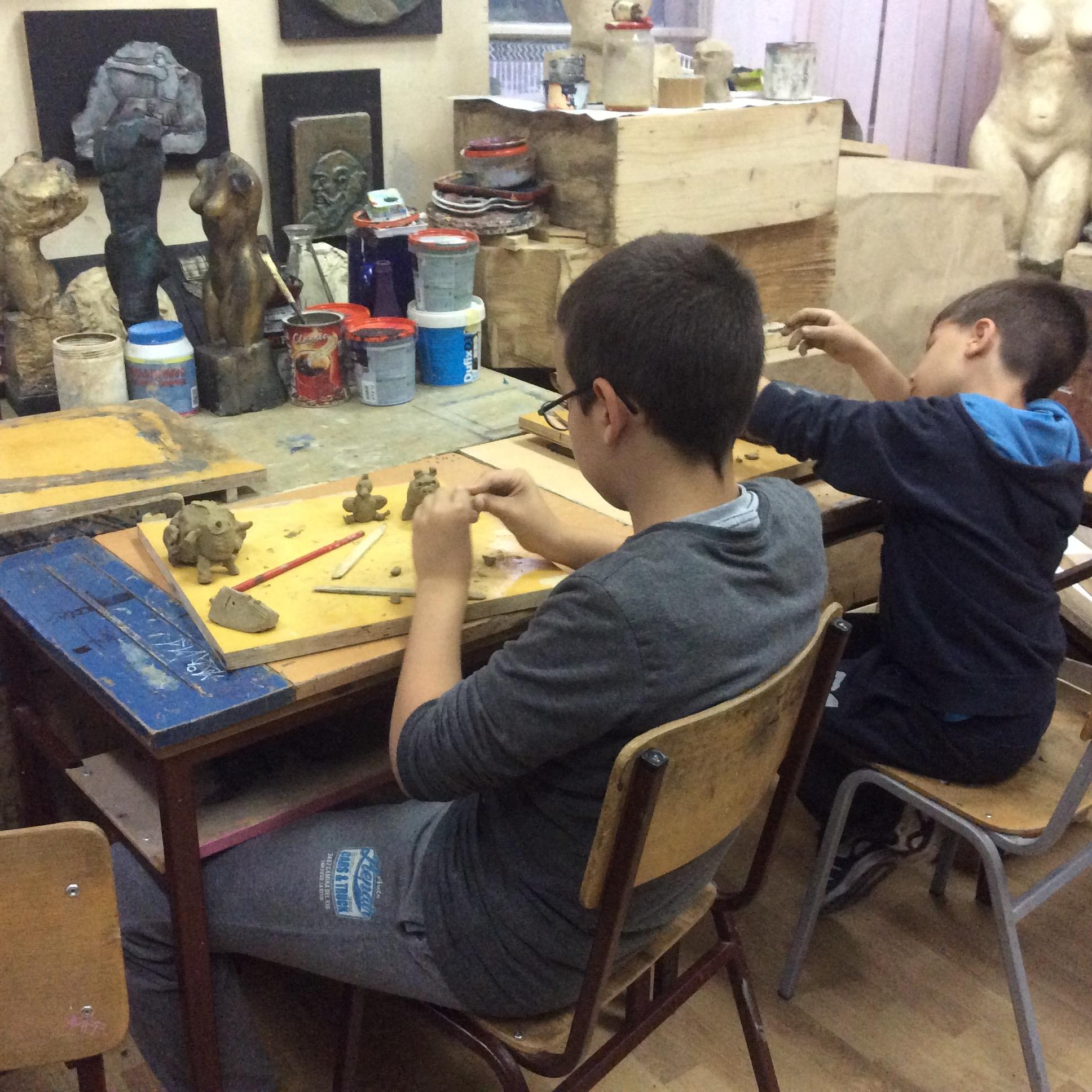 Možda i oni jednoga dana budu učenici Umetničke škole u Užicu Foto--URP