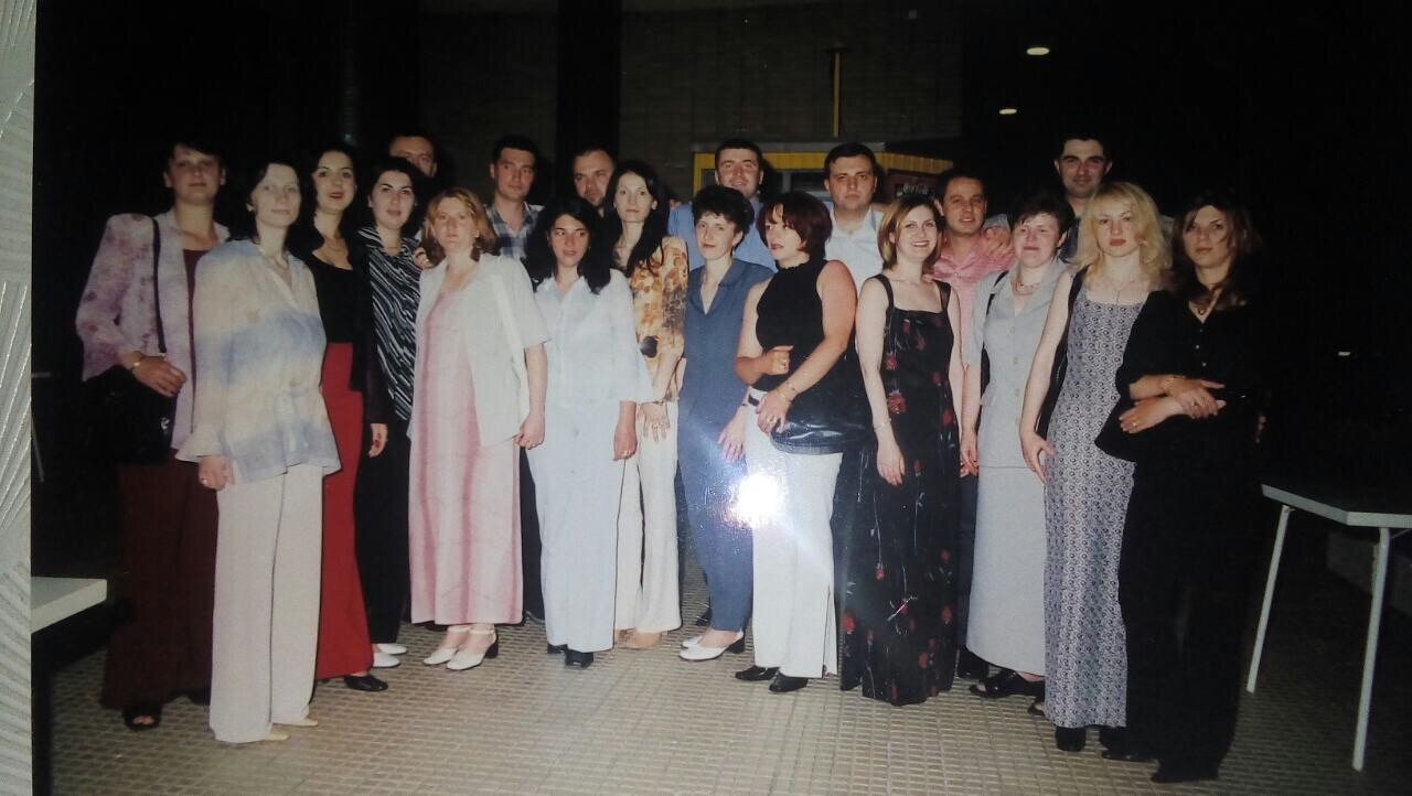 Sa proslave 10-to godišnjice mature u hotelu Palas (odeljenje trgovaca)
