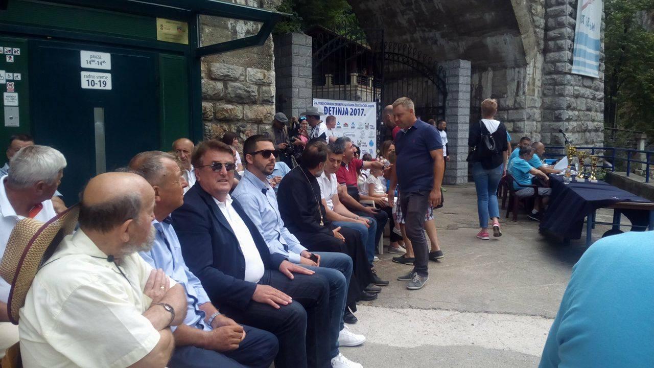 Priznanje skakačima odao je i Radomir Antić, proslavljeni srpski fudbalski trener Foto--URP