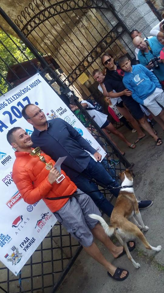 Za dva takmičarska dana, Borko Miladinović osvojio je dva prva i jedno treće mesto Foto--URP