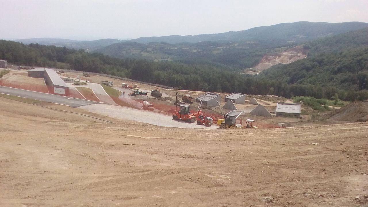 Pogoni Fabrike malokalibarske municije prostiru se na 17 hektara površine u zaseoku Ševarice, sela Uzići kod Požege Foto--M.Vranić
