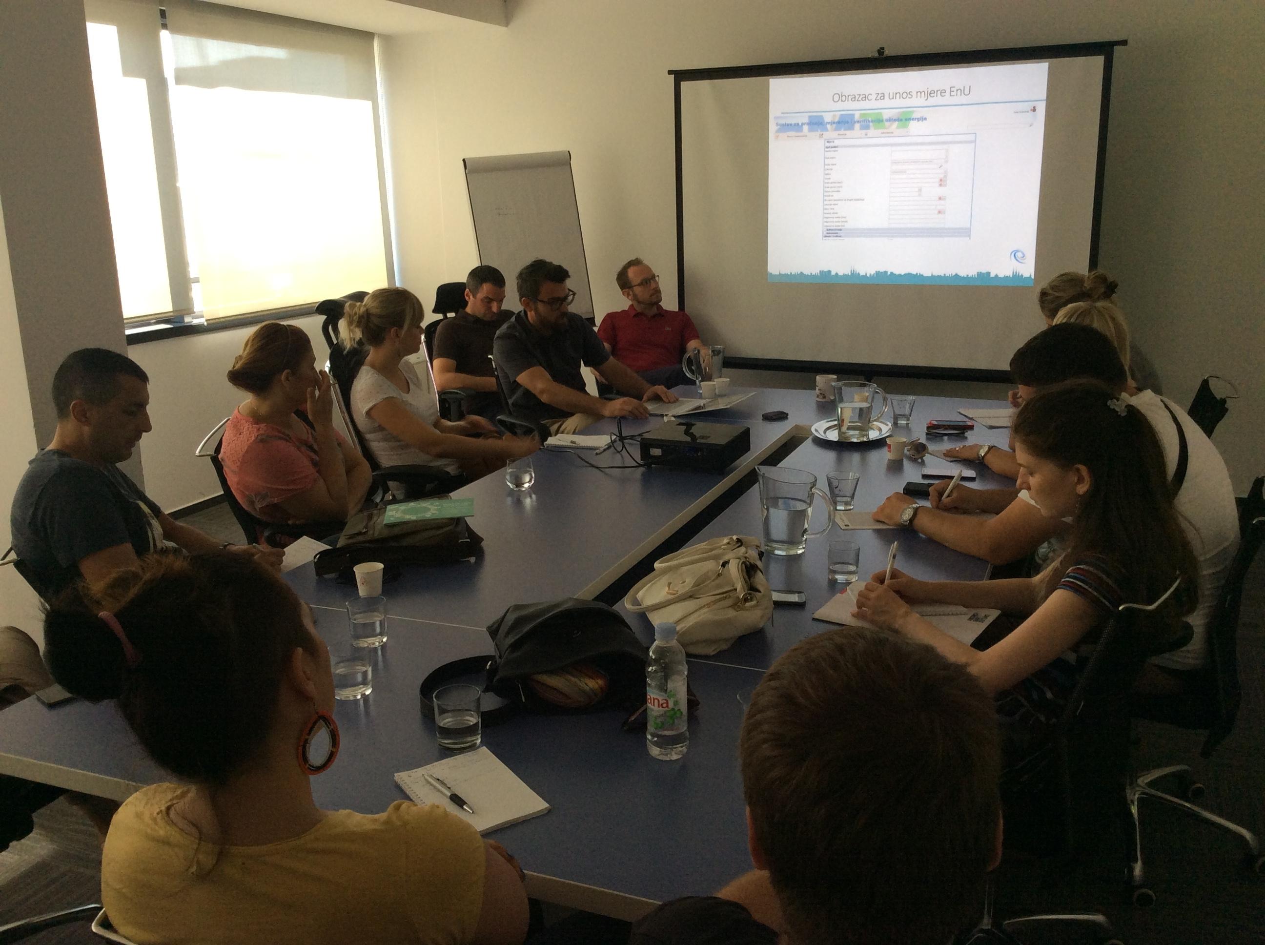 Na sastanku sa predstavnicima Centra za praćenje poslovanja energetskog sektora i investicija Foto--URP