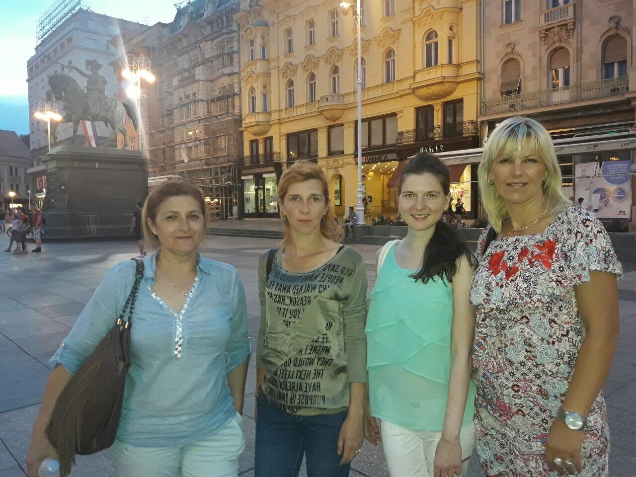 Danica Batoćanin (OU Trstenik), Biljana Kuzmanović (www.uzickarepublikapress.rs), Violeta MArković (RRA Zlatibor- Užice) i Nataša Milivojević (UG Rzav- Arilje) s leva na desno Foto--URP