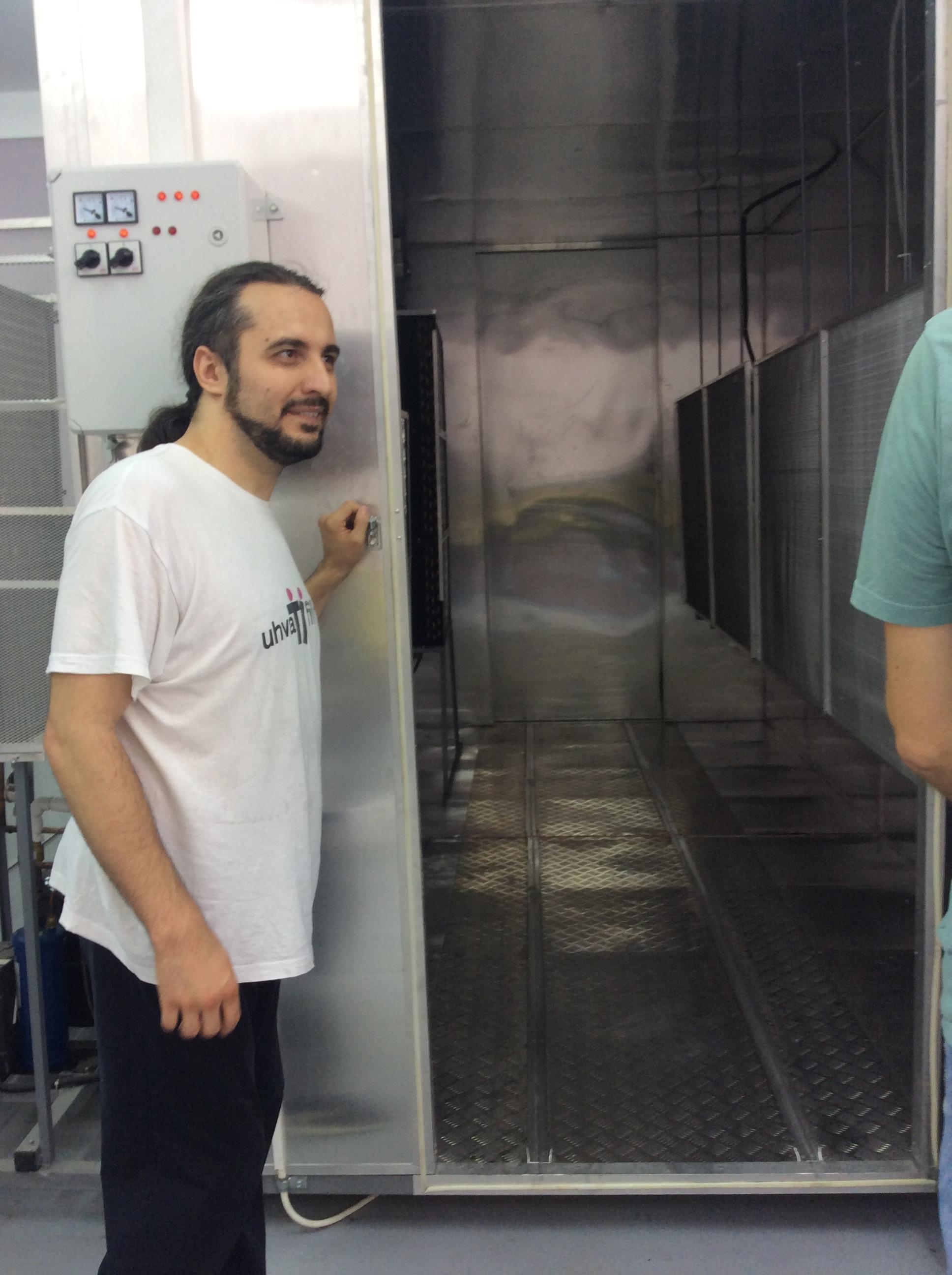 Čedomir Cicović, rukovodilac projekta veruje da će nakon sušare uspeti da obezbede i mini hladnjaču