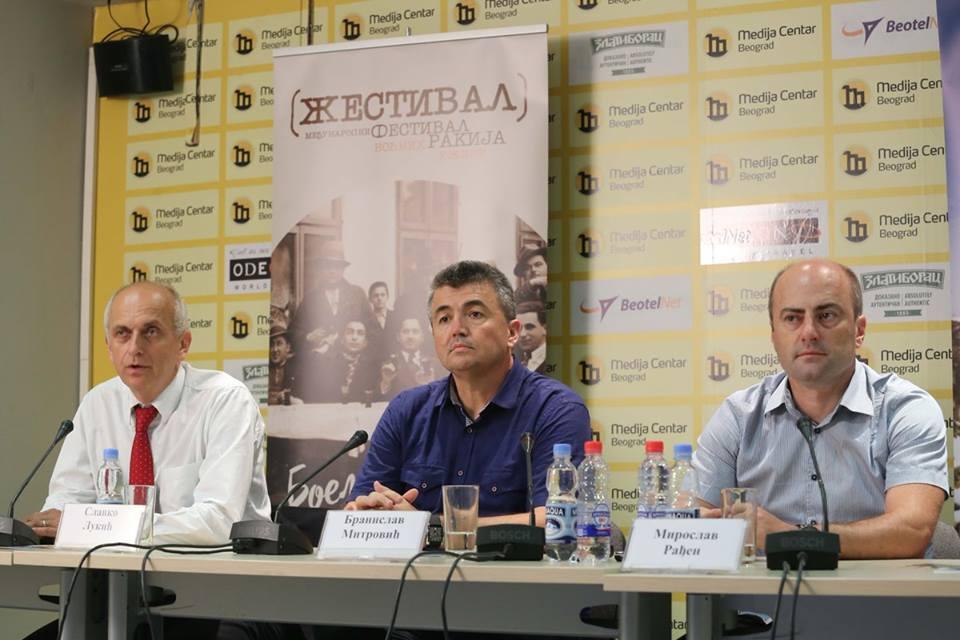 Predstavnici grada Užica, RRA Zlatibor i Turističke organizacije regije Zapadna Srbija promovisali su Žestival u Medija centru u Beogradu Foto--Medija centar Beograd