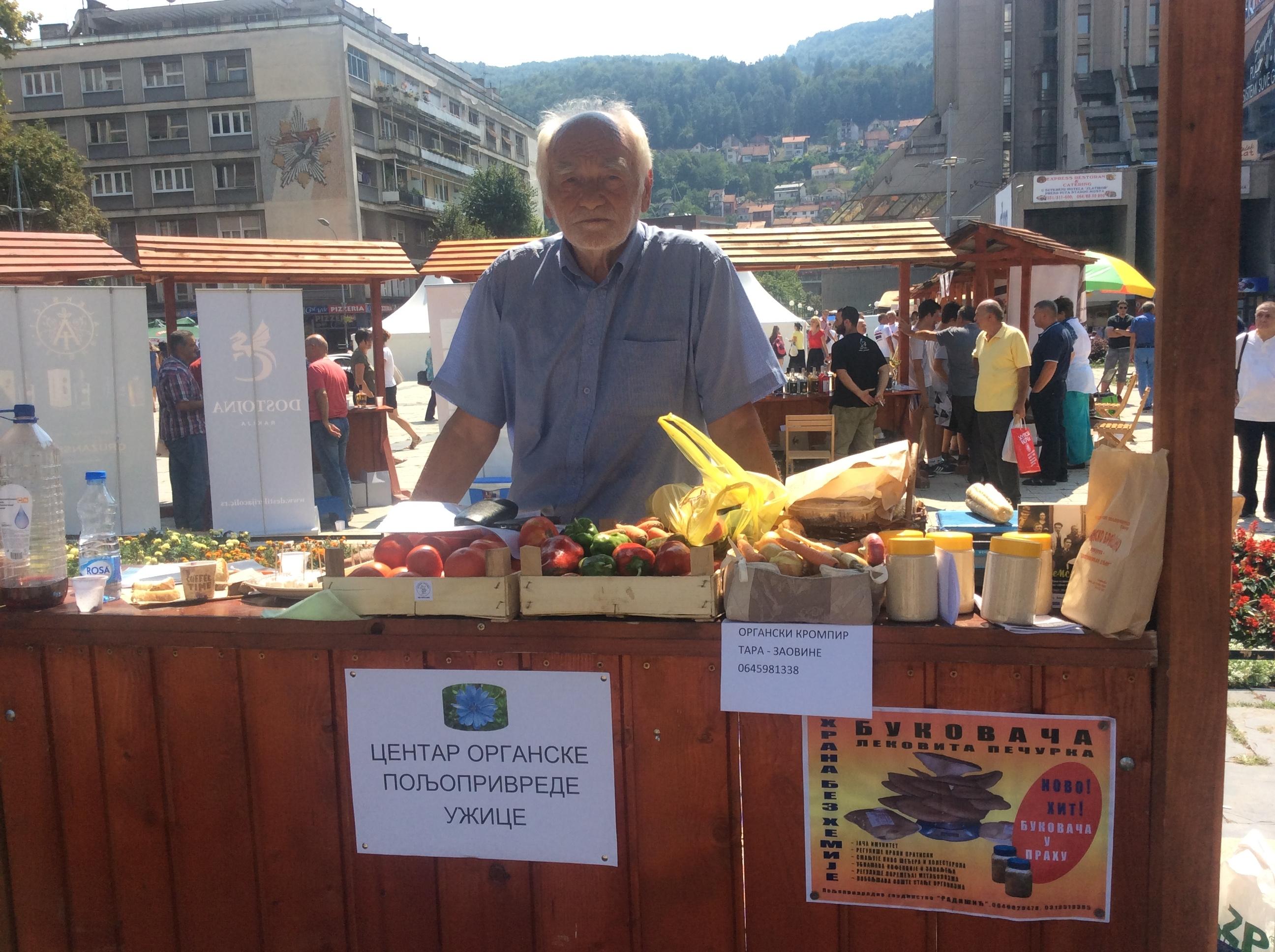 Perspektiva Zlatiborskog okruga je organska proizvodnja i turizam, veruje Nikola Bajić, predsednik COP Užice Foto--Đ.K.