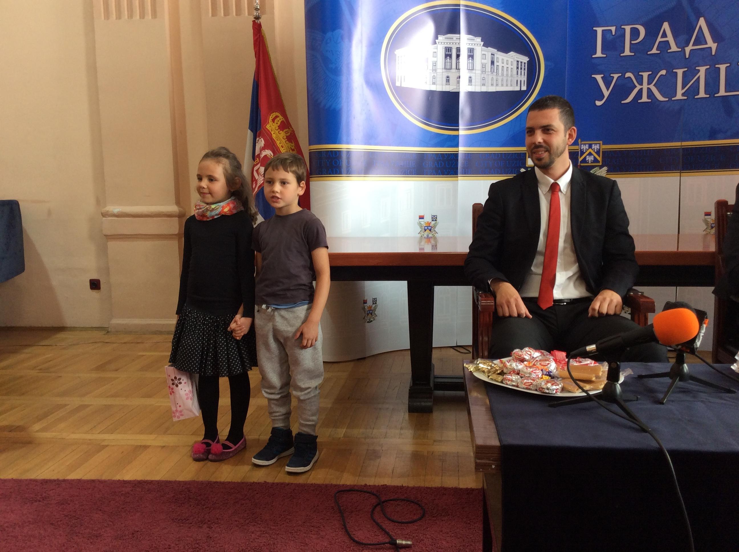 Petar i deca