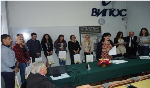 Rad na temu Kompostiranje, studentkinje Milena Tomić, proglašen je kao na XIV Festivalu studentskih radova u maju 2017. godine na Visokoj poslovnoj školi strukovnih studija u Valјevu. Foto--V.M.