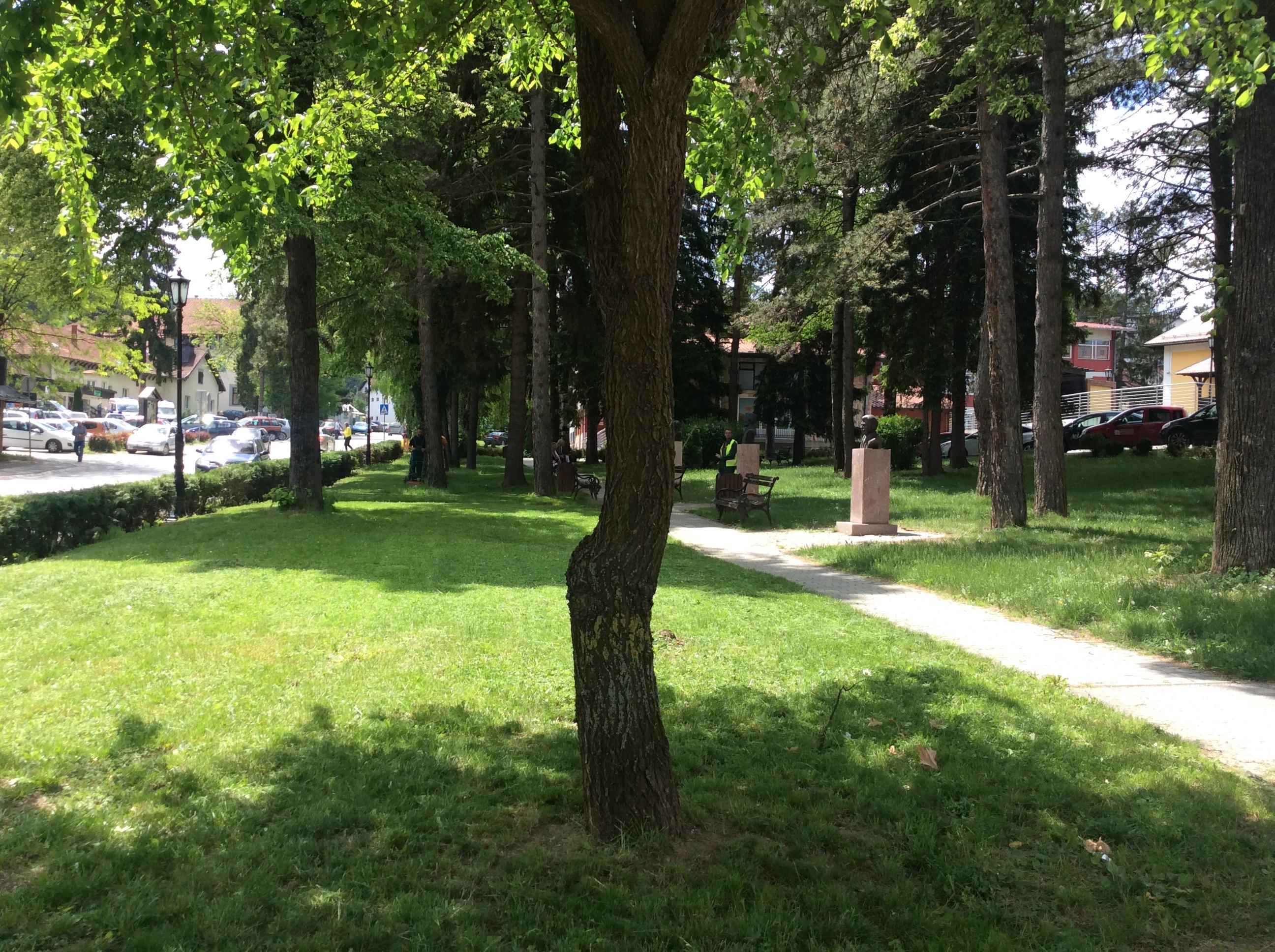 Cajetina park