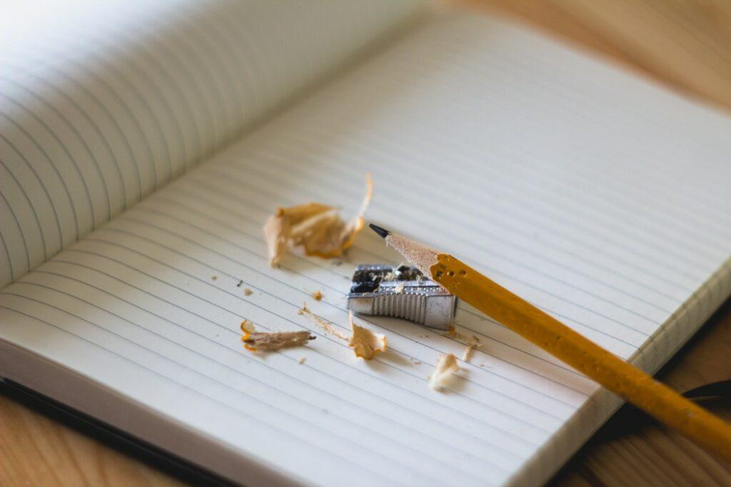 olovka i zarezač